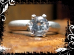 NFS Ring Silver 6mm Solitaire 01 framed