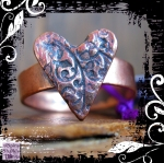 Ring Copper Heart Copper Shank 01