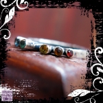Ring Silver Gemstone Rainbow 04